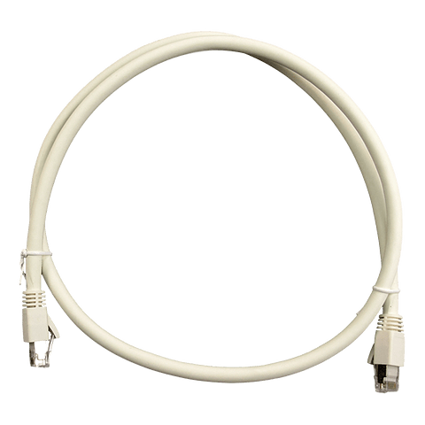 Patch Cord CAT 6A NHTD FTP LSZH Blanco 1 m