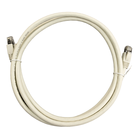 Patch Cord CAT 6A NHTD FTP LSZH Blanco 2 m