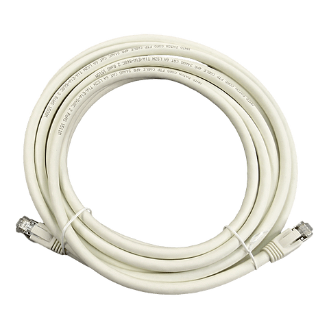 Patch Cord CAT 6A NHTD FTP LSZH Blanco 5 m