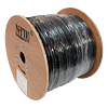 Cable FTP Cat 6 NHTD 305m 4 Pares 23AWG Negro Blindaje Exterior