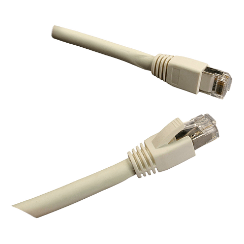 Patch Cord CAT 6A NHTD FTP LSZH Blanco 0.5 m