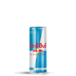 4x Energética Red Bull Sugar Free 250cc