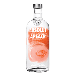 Vodka Absolut Apeach 750cc