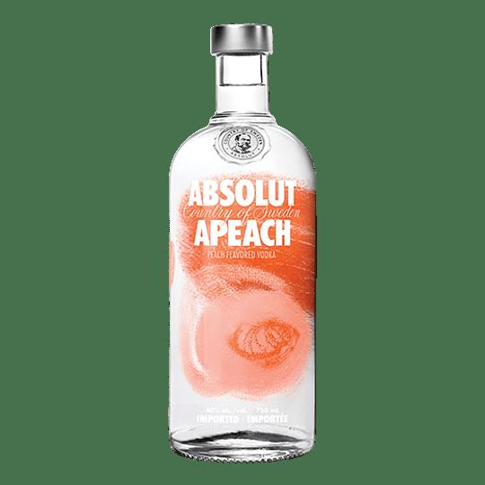 Vodka Absolut Apeach 750cc