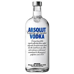 Vodka Absolut Blue 750cc