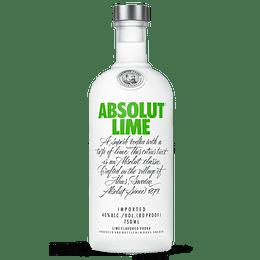Vodka Absolut Lime 750cc