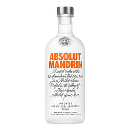 Vodka Absolut Mandrin 750cc