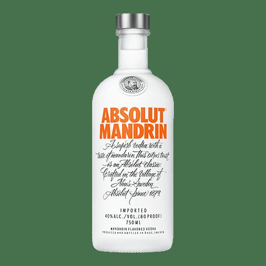 Vodka Absolut Mandrin 750cc