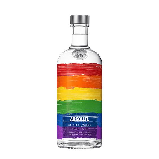 Vodka Absolut Rainbow 750cc