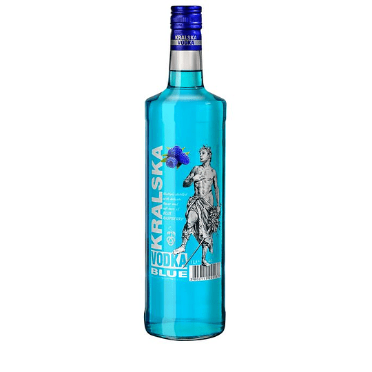 Vodka Kralska Blueberry 1 Litro