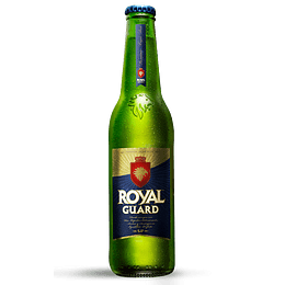 24x Cerveza Royal Guard 5.0° Botella 355cc