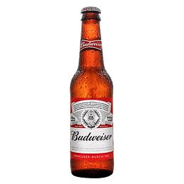 24x Cerveza Budweiser 5,0º Botella 330cc