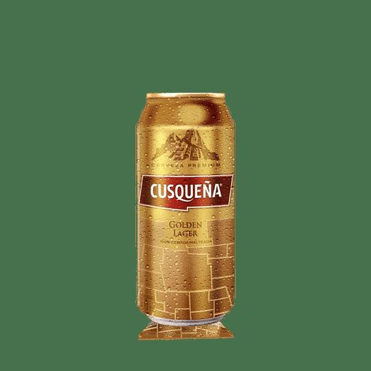 24x Cerveza Cusqueña Golden Lager 4,8º Lata 470cc