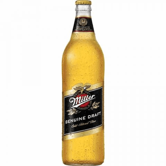 15x Cerveza Miller 4,7º Botella 710cc