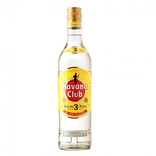 Ron Havana Club Añejo Blanco 3 Años 750cc