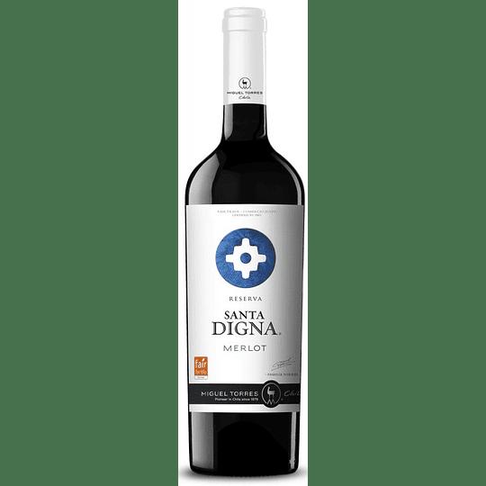 Vino Santa Digna Gran Reserva Merlot 750cc