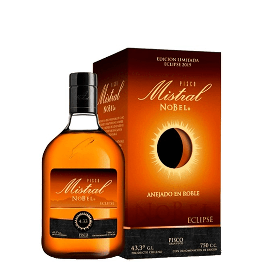 Pisco Mistral Nobel Eclipse 750cc