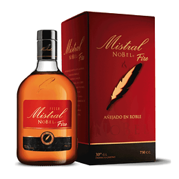 Pisco Mistral Nobel Fire 750cc