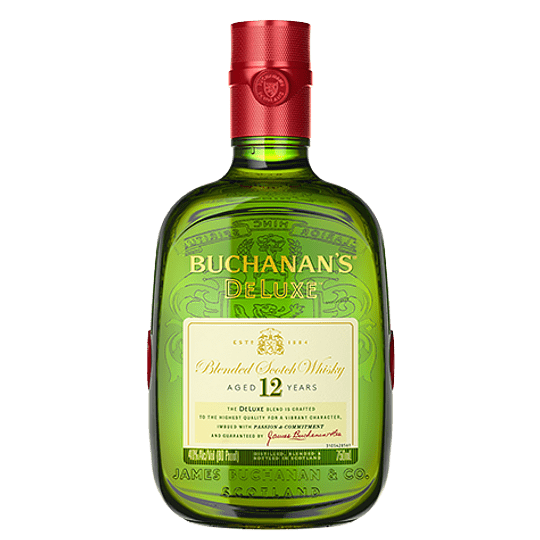 Whisky Buchanans Deluxe 12 Años 750cc