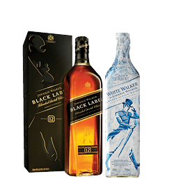 Pack Johnnie Walker Black Label 750cc + White Walker 750cc