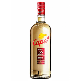 Pisco Capel 35° 2D 1000cc