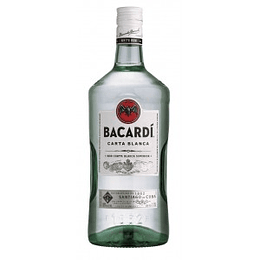 Ron Bacardi Carta Blanca Galón 1750cc