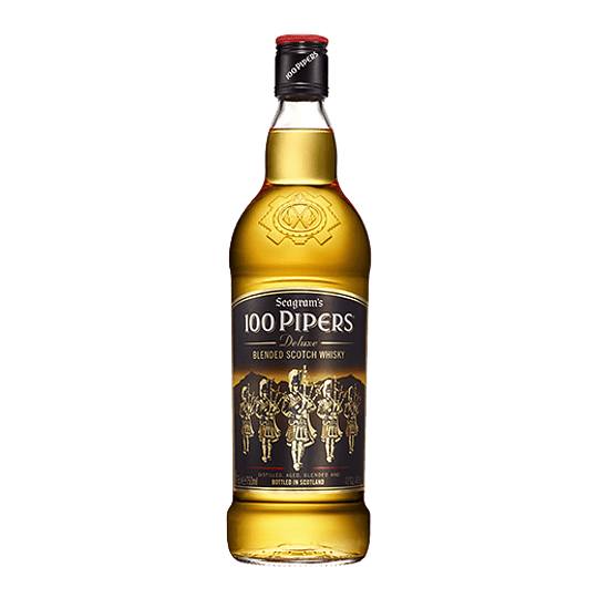 Whisky 100 Pipers 750cc