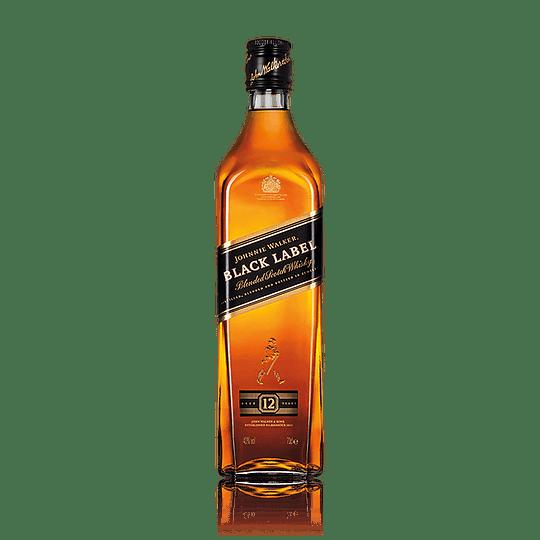 Whisky Johnnie Walker Black Label 40° 750cc