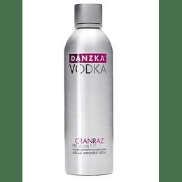 Vodka Danzka Cranraz 750cc
