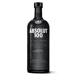 Vodka Absolut 100 750cc