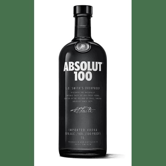 Vodka Absolut 100 750cc