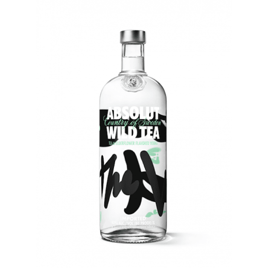 Vodka Absolut Wild Tea 750cc