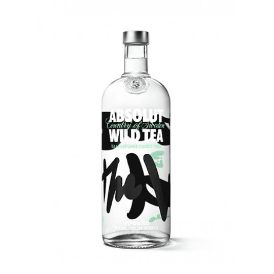 Vodka Absolut Wild Tea 750cc