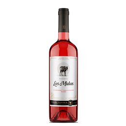 Vino Las Mulas Reserva orgánico Cabernet Rosé 750cc