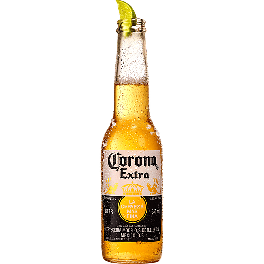 24x Cerveza Corona Extra Botella 330cc