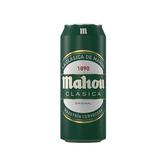24x Cerveza Mahou Clásica Lata 470cc