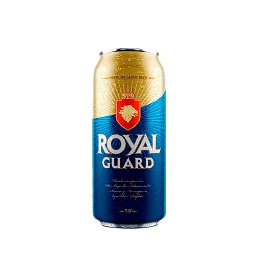 24x Cerveza Royal Guard 5,0° Lata 470cc