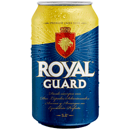 24x Cerveza Royal Guard 5,0° Lata 355cc