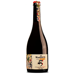 Cerveza Kross 5 Strong Ale 7,2° Botella 750cc
