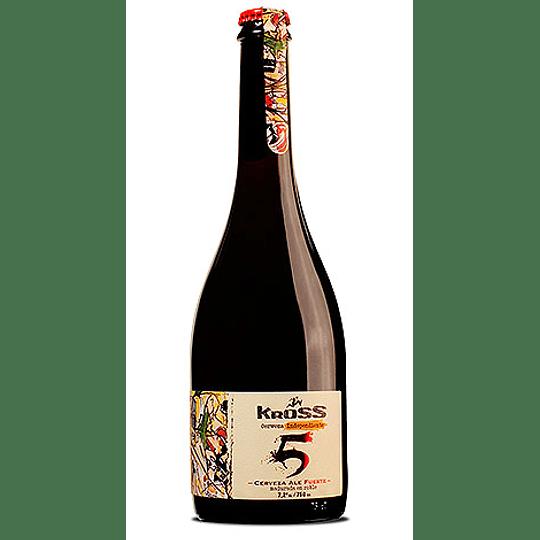 Cerveza Kross 5 Strong Ale 7,2° Botella 750cc