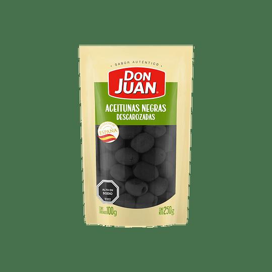 Aceitunas Negras Descarozadas Don Juan 250gr