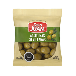 Aceitunas Sevillanas Don Juan 340gr