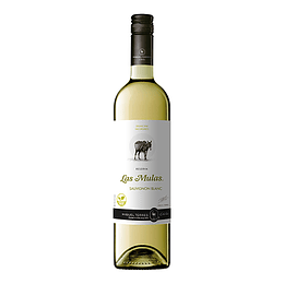 Vino Las Mulas Reserva orgánico Sauvignon Blanc 750cc