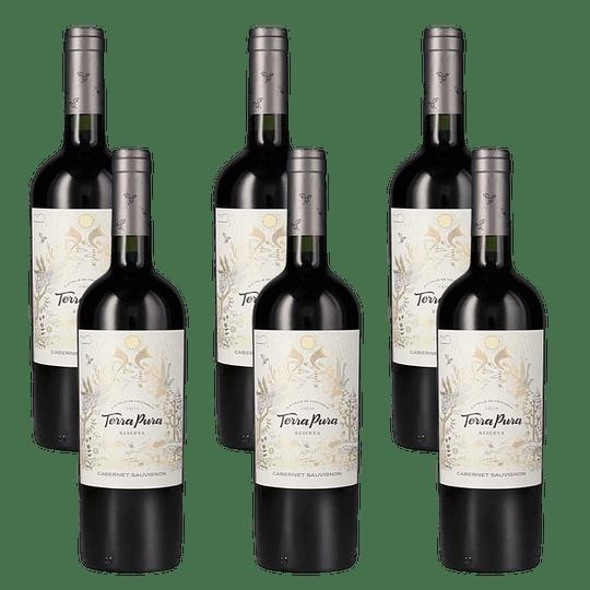 6x Vino Terrapura Reserva Variedades 750cc
