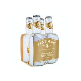 Pack 4x Fentimans Premium Indian Tonic Water Bot. 200cc