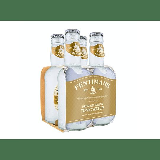 Pack 4x Agua Tónica Premium Fentimans 200cc