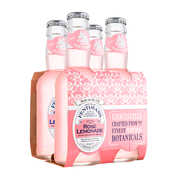 Pack 4x Fentimans Rose Lemonade Bot. 200cc