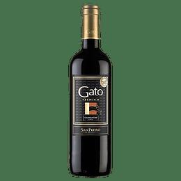 Vino Gato Premium Carmenere 750cc