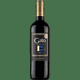 Vino Gato Premium Merlot 750cc