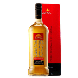 Pisco Capel Reservado Guarda Doble Destilado 40°